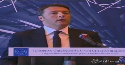Renzi al Cern: Qui Europa che costruisce domani su ...