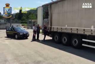 Gasolio di contrabbando, 2 arresti nel reatino