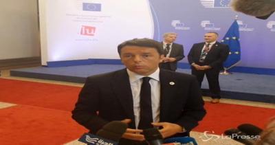 Grecia, Renzi: Uscire dall