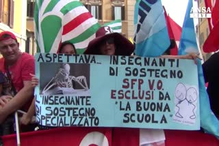Ddl scuola: ultimo atto alla camera, proteste in piazza