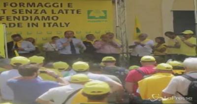 Sit-in Coldiretti a Roma per dire