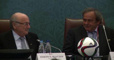 Blatter e Platini uno accanto all