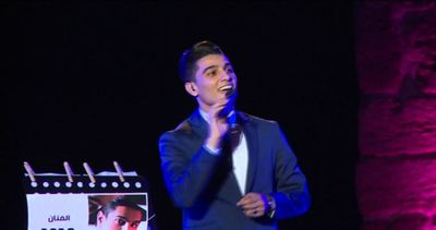 Il cantante palestinese Mohammed Assaf fa impazzire Tunisi