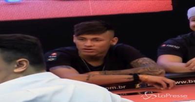 Neymar tra tornei di poker benefici e l