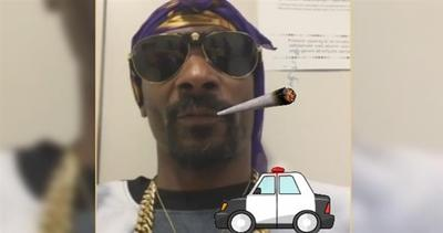 Snoop Dogg arrestato, twitta dalla volante