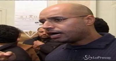 Condannato a morte il figlio di Gheddafi
