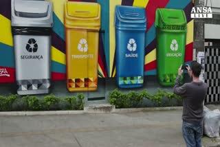 Brasile, street art contro i mali moderni