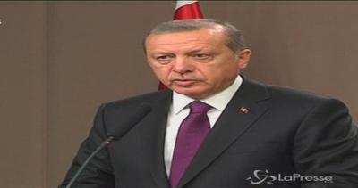 Erdogan: Impossibile processo pace con chi mina unità ...