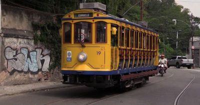 """Riparte il """"Bondinho"""", il tram di Rio dalla storia ..."""