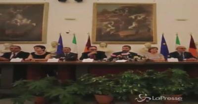 Roma, sindaco Marino presenta giunta: Arrivano Causi, Esposito e Rossi Doria