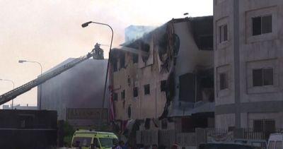 Il Cairo, fabbrica in fiamme: il bilancio è di almeno 25 ...