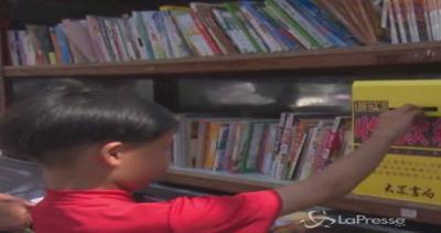 Libreria self service in Cina: volumi a portata di ladro, ...