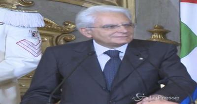 Mattarella: Io arbitro,in Parlamento turbolenze, ma non mi ...