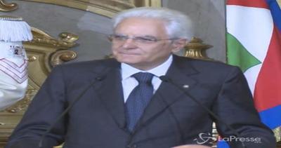 Mattarella: Non ho potere di veto sulle leggi, non è mia competenza