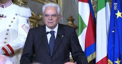 Mattarella: in democrazia impossibile un uomo solo al ...