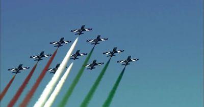 Le Frecce tricolori compiono 55 anni, festeggiamenti a ...