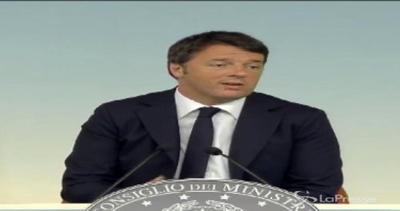 Renzi si fa le domande e si risponde:  Sotto su Rai?  I ...