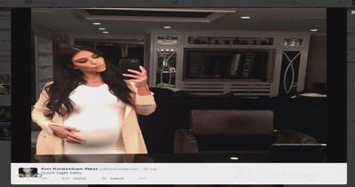 Kim Kardashian in dolce attesa è attillata e ispirata: ...
