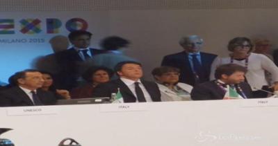 Expo, Renzi: La cultura è la carta di identità di un popolo