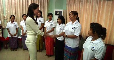 Angelina Jolie in visita in Myanmar, invitata da Aung San ...