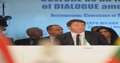 Expo, Renzi: 'Caschi blu' cultura sono grande idea, no ...