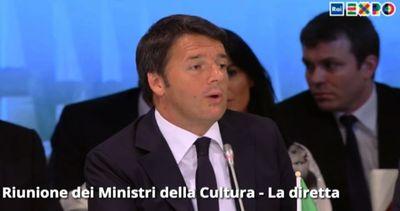 Renzi: cultura carta d'identità popoli, salverà il nostro ...