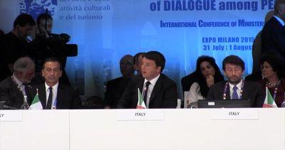 Renzi: la cultura salverà l'Italia, darà lavoro a tanti ...
