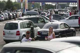Esodo, traffico da bollino nero sulle strade