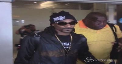 Snoop Dogg fermato ad aeroporto Lamezia Terme: con sé ...