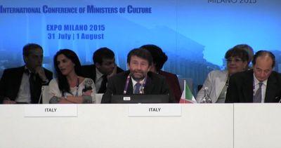 Ministri Cultura in Expo: appello a Onu per tutela del ...