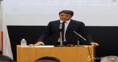 Renzi cita Leonardo: Dobbiamo fare meglio di chi ci ha preceduto