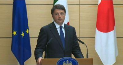 Renzi: Italia-Giappone condividono valori culturali e ...