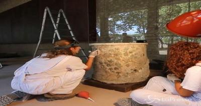 Pompei rinasce con affreschi di Moregine. De Luca: Pronte ...
