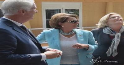 Nancy Pelosi in visita a Expo: Onorata di essere qui