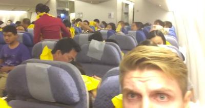 Cosa succede a bordo durante un atterraggio di emergenza?