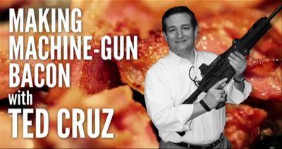 Presidenziali Usa: candidato cuoce il bacon sulla canna del ...