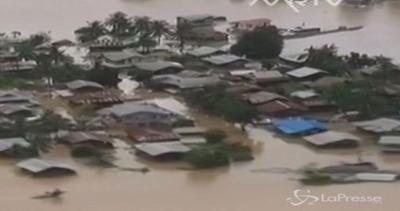 Myanmar sott'acqua: oltre 210mila sfollati a causa delle ...