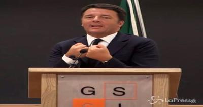 Renzi: A L'Aquila non per show ma per lavoro concreto