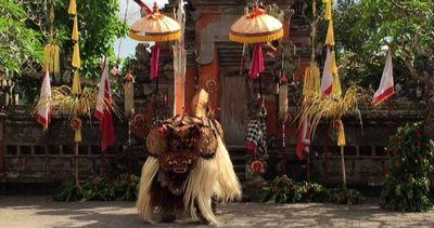 Il Bene vince sul Male, a Bali la sacra danza del Barong