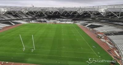 Coppa del mondo di rugby: il time lapse dei preparativi ...