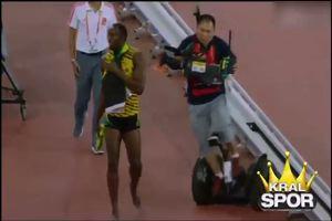 Bolt, oro con capitombolo finale