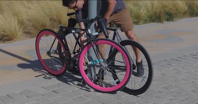 Ecco la bici impossibile da rubare