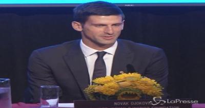 Tennis, Djokovic nominato ambasciatore dell'Unicef