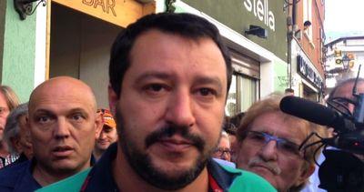 Salvini a Bormio: chiudete l'albergo che ospita i ...