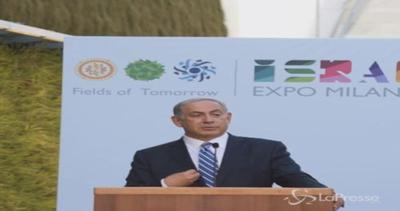 Netanyahu in visita a Expo: Grande successo dell'Italia