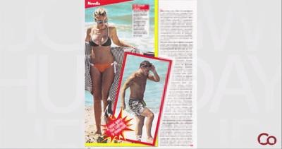 Ilary Blasi, bikini al top