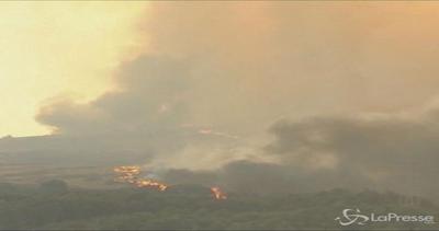 Inferno in Spagna: duemila acri di foresta in fiamme