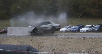 Incidente a 200 km orari, ecco cosa può accadere