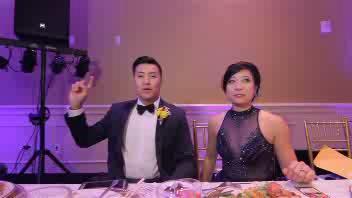 Sposi e invitati si scatenano nel lip-sync