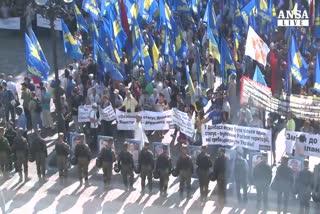 Torna la violenza nazionalista a Kiev